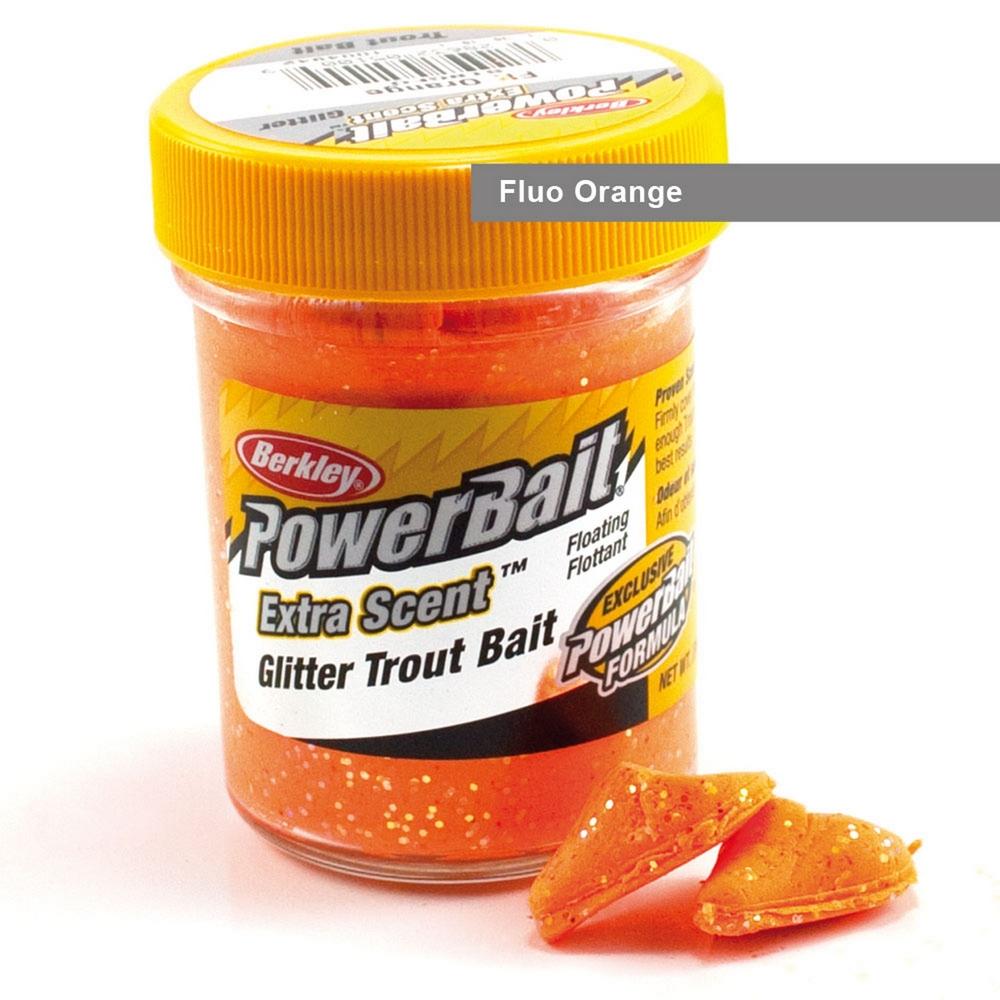 Berkley Powerbait Glitter Fluo Orange